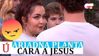 Ariadna estalla contra Jesús antes del segundo pase de micros para la Gala 2 de OT 2020
