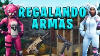 🔴 DIRECT GIFTING WEAPONS WITH LIVE VALENTINODAS [FORTNITE SAVE THE WORLD]