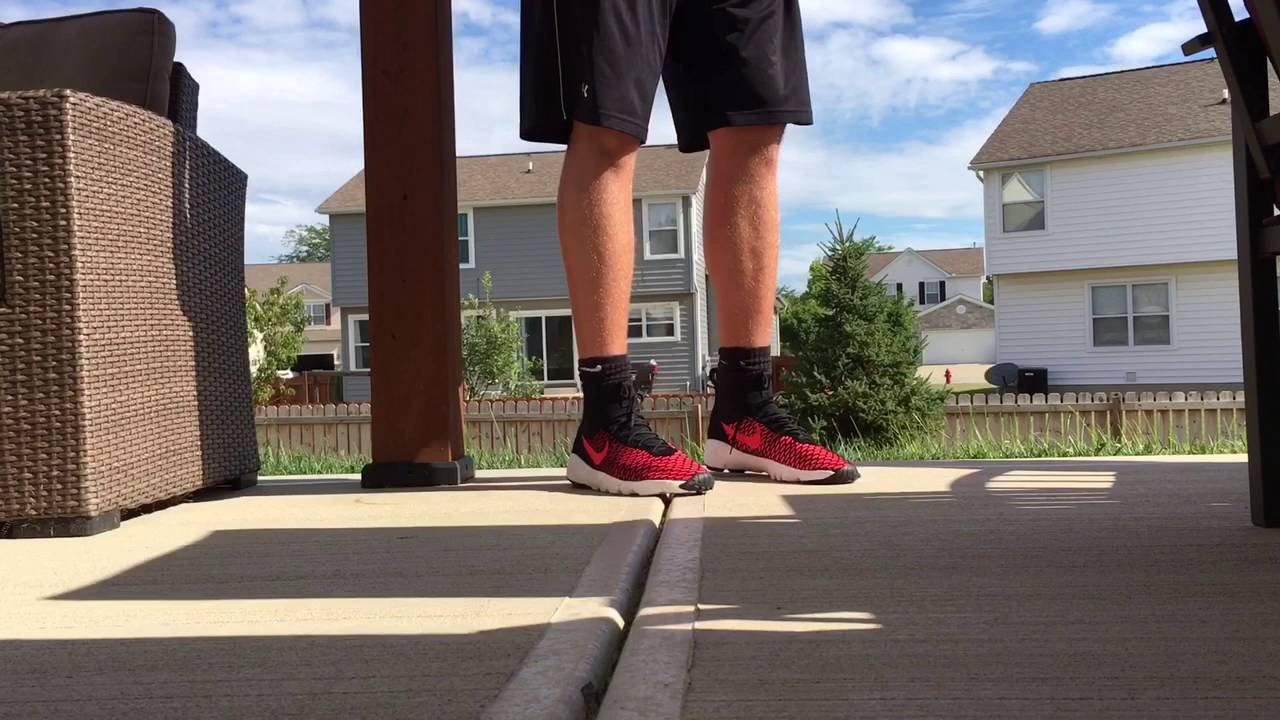 1941a756c814 Nike air footscape magista flyknit black and red review and on feet ...