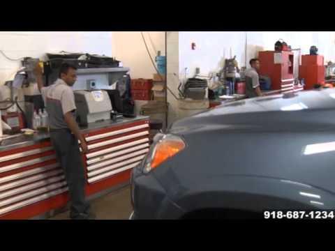 Toyota Engine oil fluid leak transmission power steering leak service McAlester Tahlequah OK