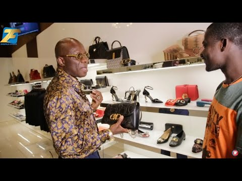A Bag At My Shop Costs Gh12000, Belt Gh2600 - Rich Ghanaian Who Owns One Of The Best Boutiques