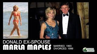 Donald Trump's EX-wife Marla Maples -(m. 1993; div. 1999)