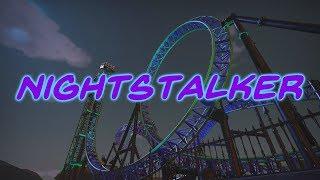 Planet Coaster - Nightstalker - Ride Overview