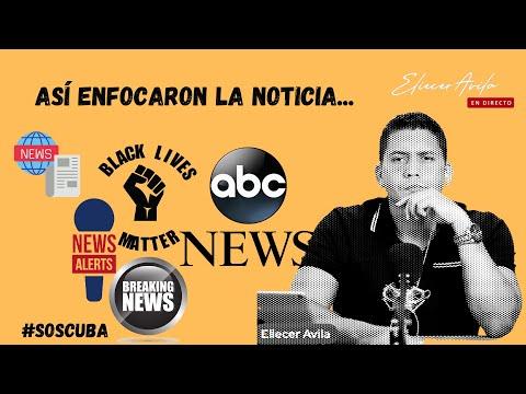 Así enfocaron la noticia. Cuba es primera plana ????