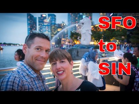 SFO to Singapore | Asia Vlog day 1