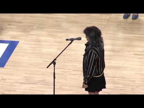 Kirstin Maldonado American national anthem