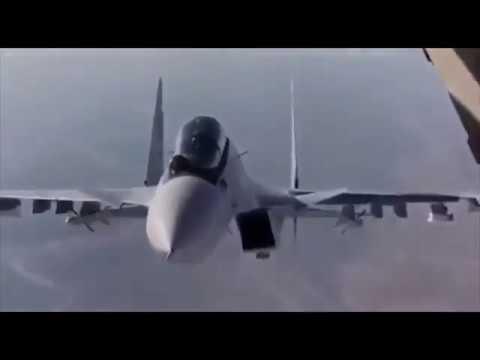 Syria: the su-30 made a fantastic maneuver