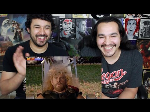 THOR RAGNAROK – EXCLUSIVE HAIRCUT DELETED SCENE | Weird Viral by Aldo Jones REACTION!!!