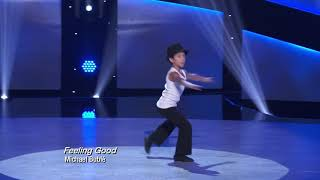 "So You Think You Can Dance: The Next Generation - J.T.'s Jazz Solo Performance ""Feeling Good"""