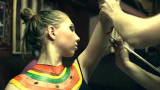 Repeat youtube video body paint бодиарт BODYART A級、ボディーペイント боди арт body art body paint