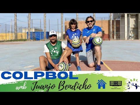 El colpbol - educació física a casa - Entrevista a Juanjo Bendicho - Esports amb... - Pedro i Pol