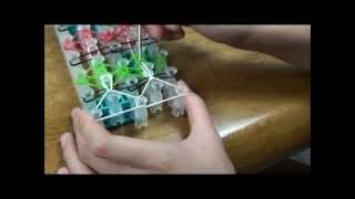 "(OLD) Lesson 16: ""Tulip Tower"" Rainbow Loom® Bracelet"