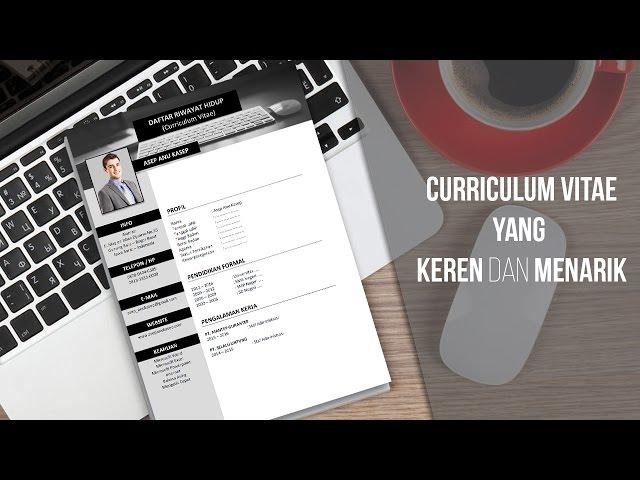 Contoh Cv Curriculum Vitae Tips Membuat Cv Agar Langsung Di Terima