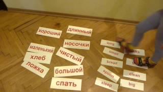 Аутизм? Без Паники!... Результаты - 2013г,  Карточки  Домана, Русский и Английский язык сразу