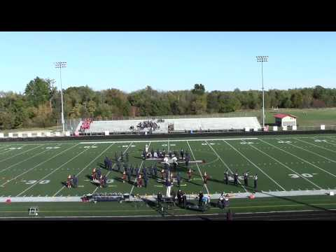 Gobles High School Marching Band Lakeshore 2014