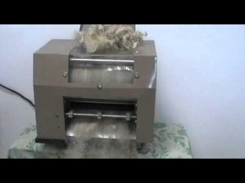 Wool Carding Machine