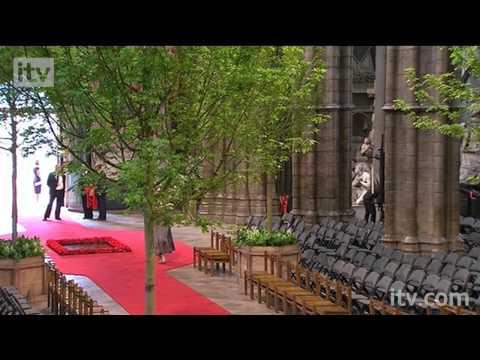 The Royal Wedding - Cartwheeling Verger