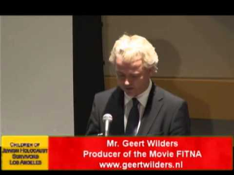 Geert Wilders: Special California Appearance