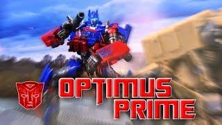 Transformers Stop motion review Studio Series Optimus Prime