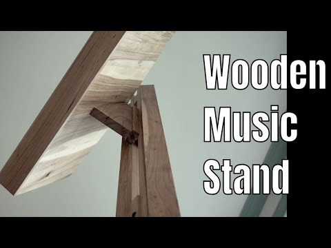 Beautiful and Adjustable Music Stand