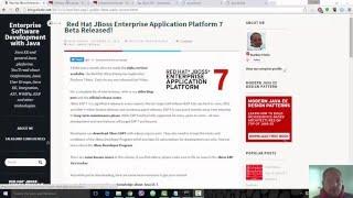 Getting Started with JBoss Enterprise Application Platform 7