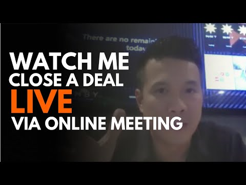 Live online sales call by James The Solar Energy Expert
