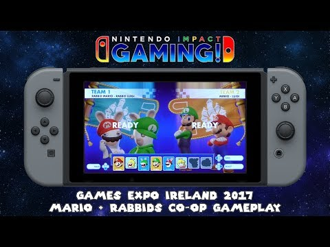 Games Expo Ireland 2017 | Mario + Rabbids Co-Op Gameplay
