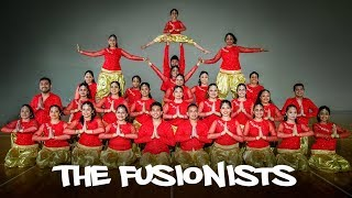 The Fusionists - 29 dancers | Bollywood Fusion Group Dance | Sneha Desai Choreography