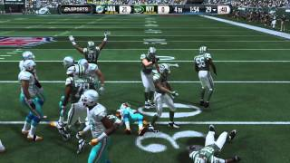 NFL 2014 MNF Week 13 - Miami Dolphins vs New York Jets - 2nd Half - Madden 15 PS4 - HD