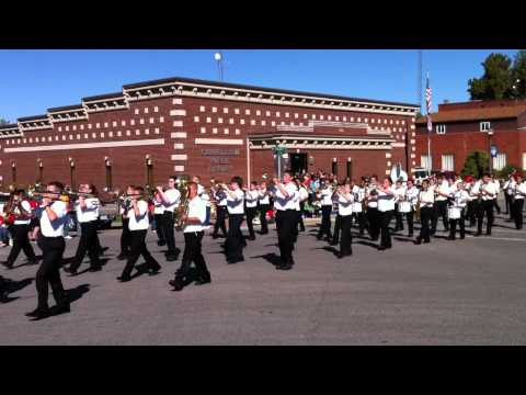 2012 Oak Grove Middle School Marching Band