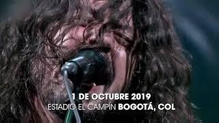 Foo Fighters junto a Weezer y Tenacious D en el estadio El Campín