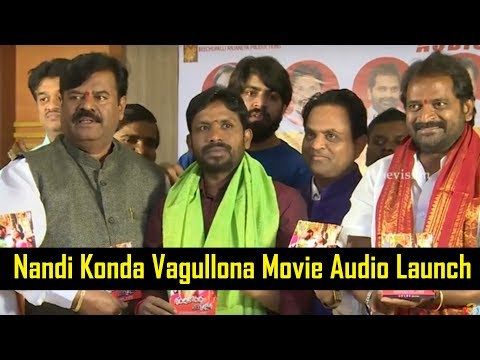 Nandi Konda Vagullona Telugu Movie Audio Launch