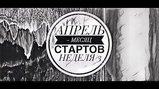 46. Вышивка крестом. АПРЕЛЬ - МЕСЯЦ СТАРТОВ 2019. Неделя 3.