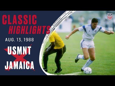 USA 5-1 JAMAICA Classic Highlights | Aug. 13, 1988 | Fenton, Mo. - St. Louis Soccer Park