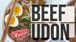 Beef Udon in 30 Minutes  Hungry Ant