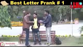 Whatsapp Funny Comedy Best Letter Prank # # 1