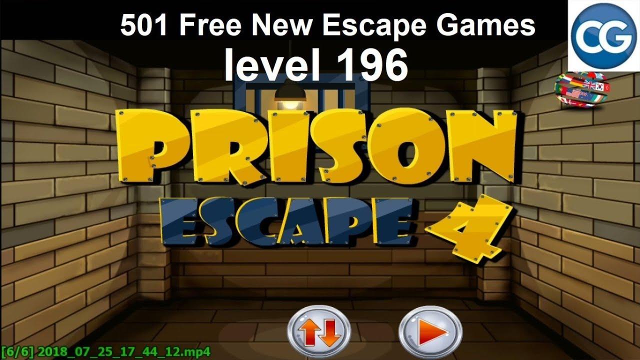 Walkthrough 501 Free New Escape Games Level 196 Prison