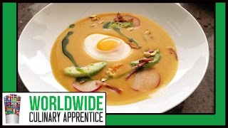 Carrot Ginger Soup - Vegetable Soup - How To - Recipe - Online Cooking Classes