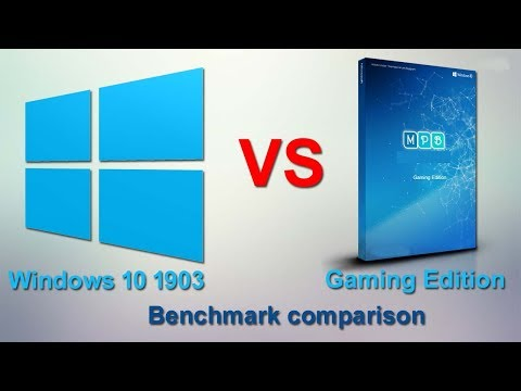 Windows 10 Version 1903 Vs Windows 10 Gaming Edition Benchmark Compression