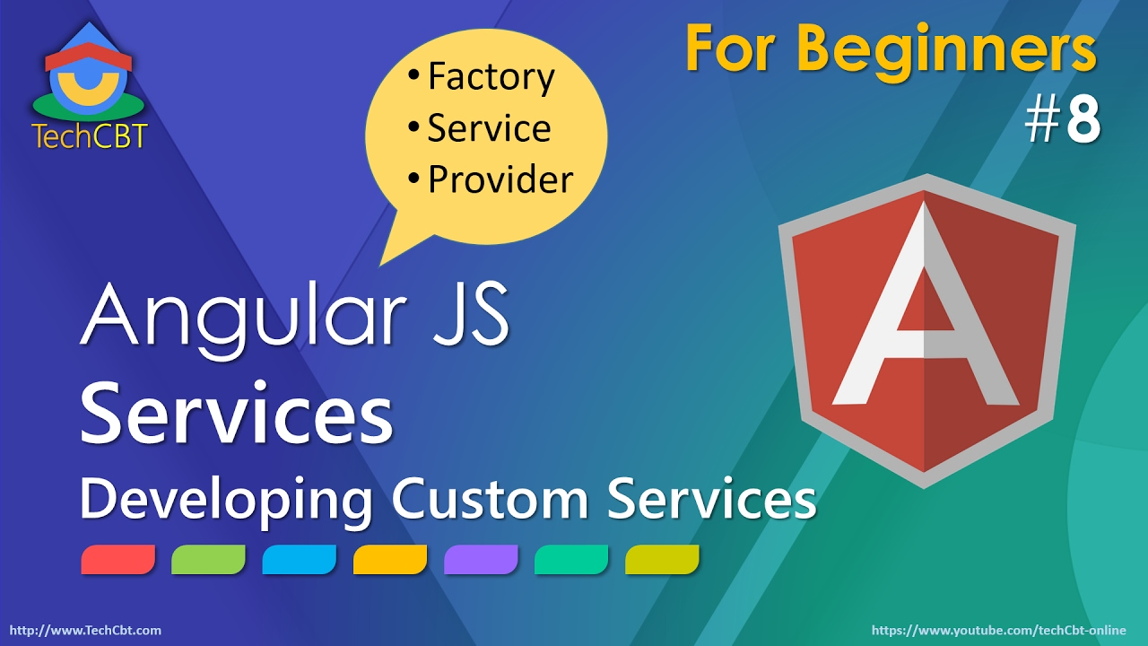 angularjs: developing custom services (factory vs service vs