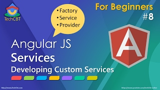 AngularJS: Developing Custom Services (factory vs service vs Provider) thumbnail