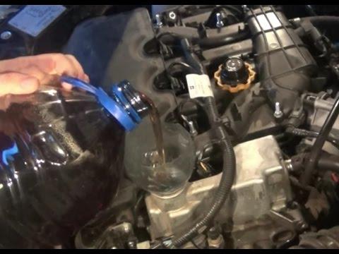 Замена масла в двигателе на ВАЗ - Lada Granta