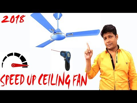 How To Sd Up Ceiling Fan 2019 Slow