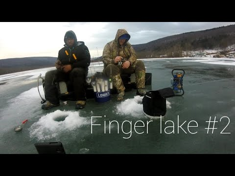 Ice Fishing The Finger Lakes
