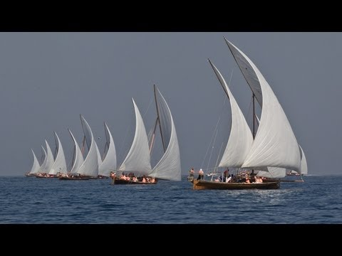Racing of the Dhows in Abu Dhabi | Volvo Ocean Race 2011-12