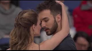 Ритм танец французских фигуристов Габриэллы Пападакис и Гийома Сизерона на чемпионате мира 2017 года