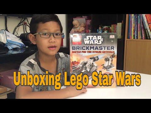 Unboxing Lego Star Wars, koleksi Lego terbaru Zian dari event Big Bad Wolf😍