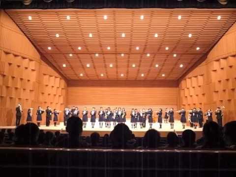 山口県立徳山高等学校校歌 吹奏...