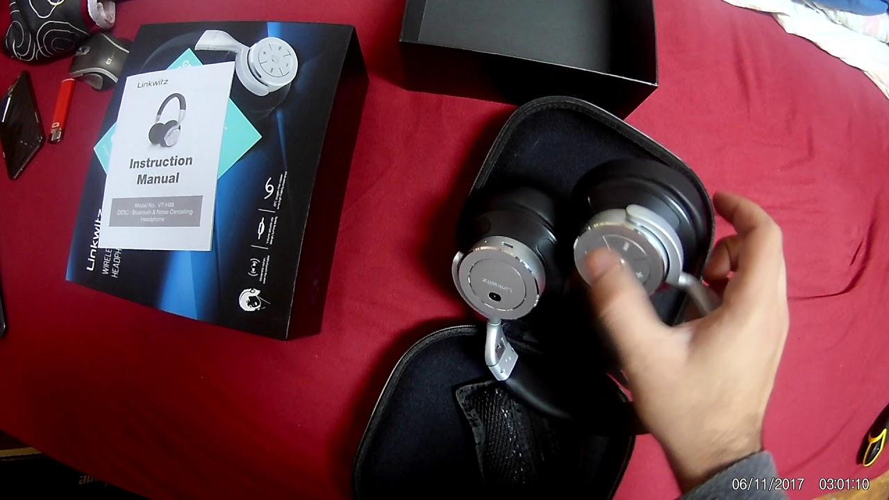 032633b2211 LinkWitz Bluetooth Over Ear Headphones with Hi Fi Stereo Sound and Deeper  Bass over ear Headset