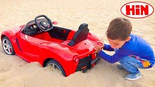 आर्टेम और खिलौना कारें - बच्चों के लिए खिलौने कारों के बारे में सबसे अच्छी कहानियां